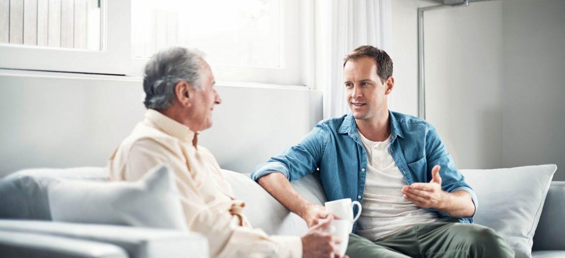 como lidar com idosos