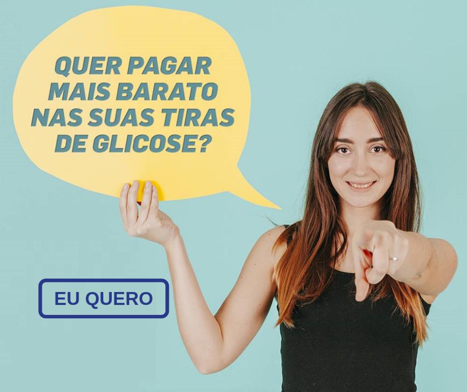 DESCONTO TIRAS DE GLICOSE