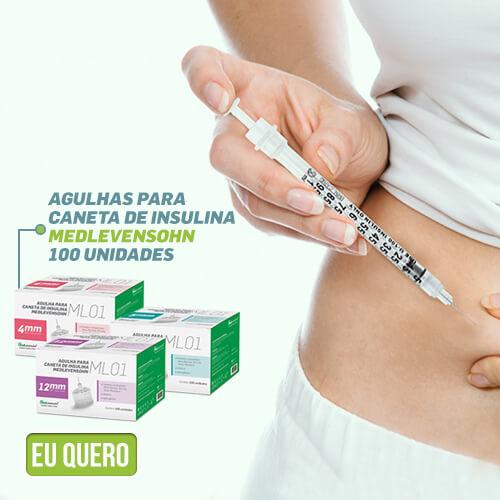 Agulha para insulina