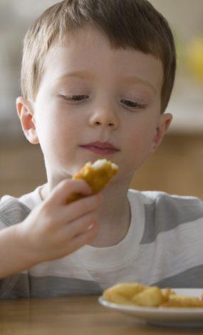 criança com diabetes